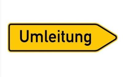 Vollsperrung der Ortsdurchfahrt in Rechtenbach aufgrund von Kanalsanierungsarbeiten