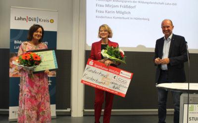 Erster Bildungspreis Lahn-Dill geht an Kinderhaus Kunterbunt