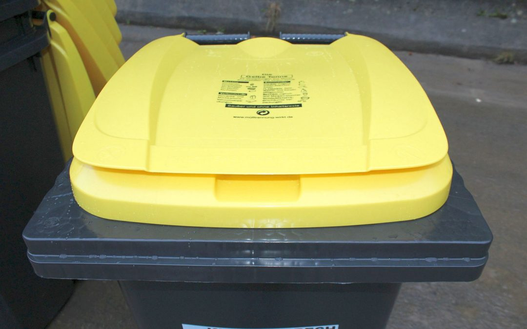 Die Gelbe Tonne ersetzt den Gelben Sack
