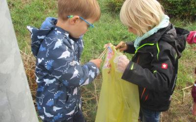 Unsere Kleinsten setzen Zeichen für den Umweltschutz