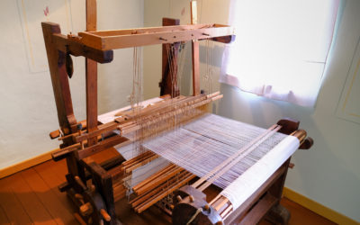 Stoffproduktion im Goethehaus