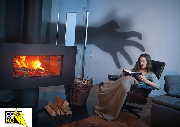 CO-Vergiftung vermeiden durch Warngeräte