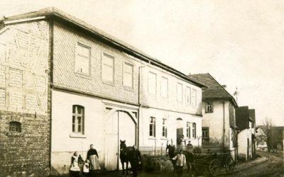 "Das Gasthaus ""Zum grünen Baum"" in Rechtenbach"