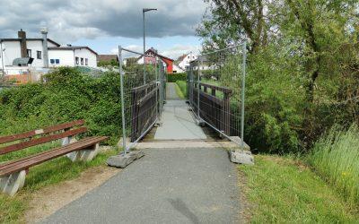 Holzbrücke Berliner Straße ist geöffnet
