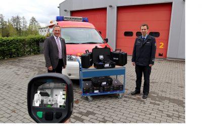 Feuerwehr Hüttenberg erhält Wärmebildkameras
