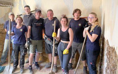 Freiwillige Helfer in Bad Münstereifel